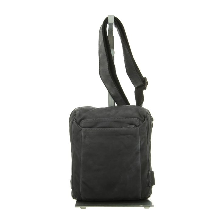 NEU: Voi Leather Design Handtaschen Crossover - 21077 SZ - schwarz -