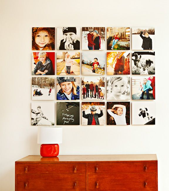 My friend just launched WallGalleries yesterday. Really cool and simple way to display your photos on a wall.