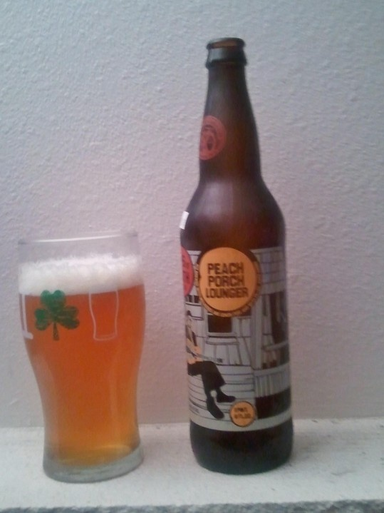 New Belgium Lips of Faith Peach Porch Lounger