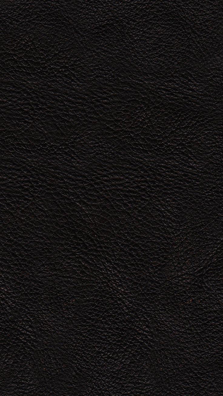ブラックレザー | シンプルでかっこいいiPhone壁紙