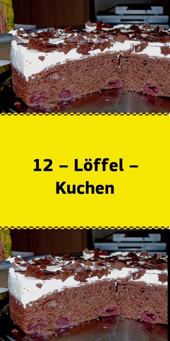 12 – Löffel – Kuchen – NUR FÜR DICH