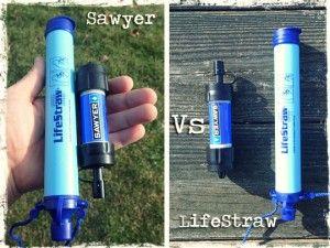 Sawyer mini vs Lifestraw