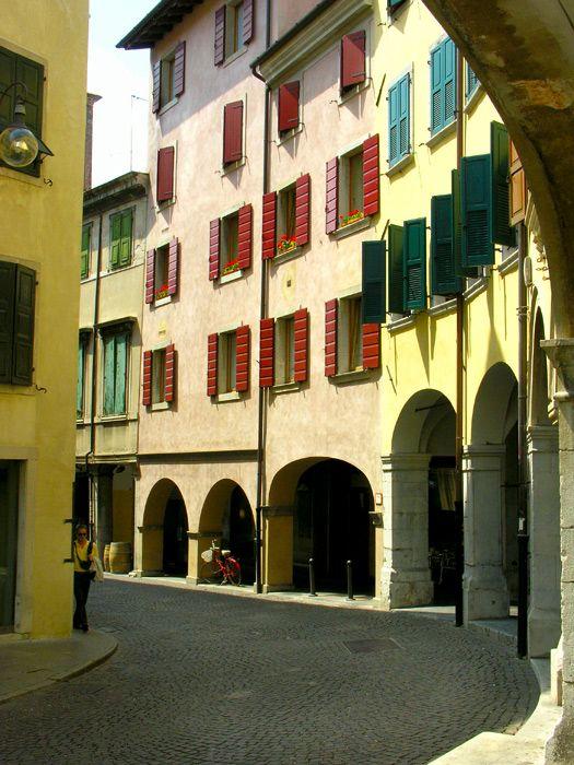 """""""portici"""" in Udine, Friuli-Venezia Giulia, Italy"""