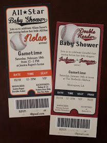 """Baseball Baby Shower or boy birthday party idea ~ """"Hum Baby"""" as us SF Giants fans say!"""