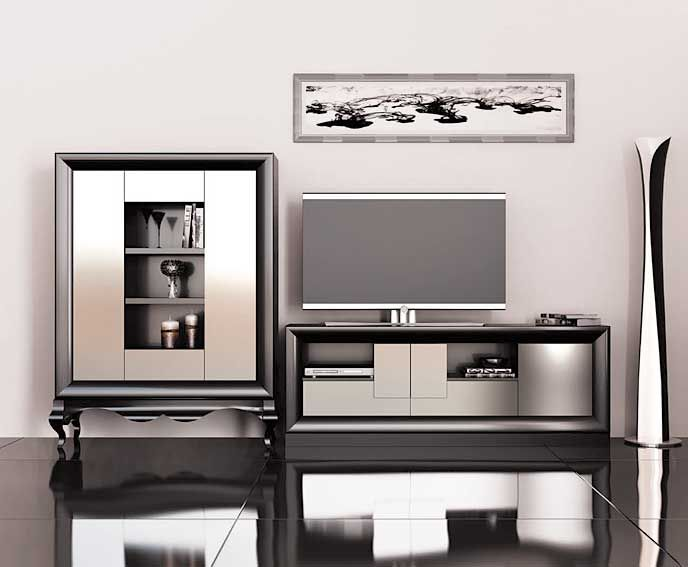 34 best salones images on pinterest home ideas my house for Decoracion muebles salon
