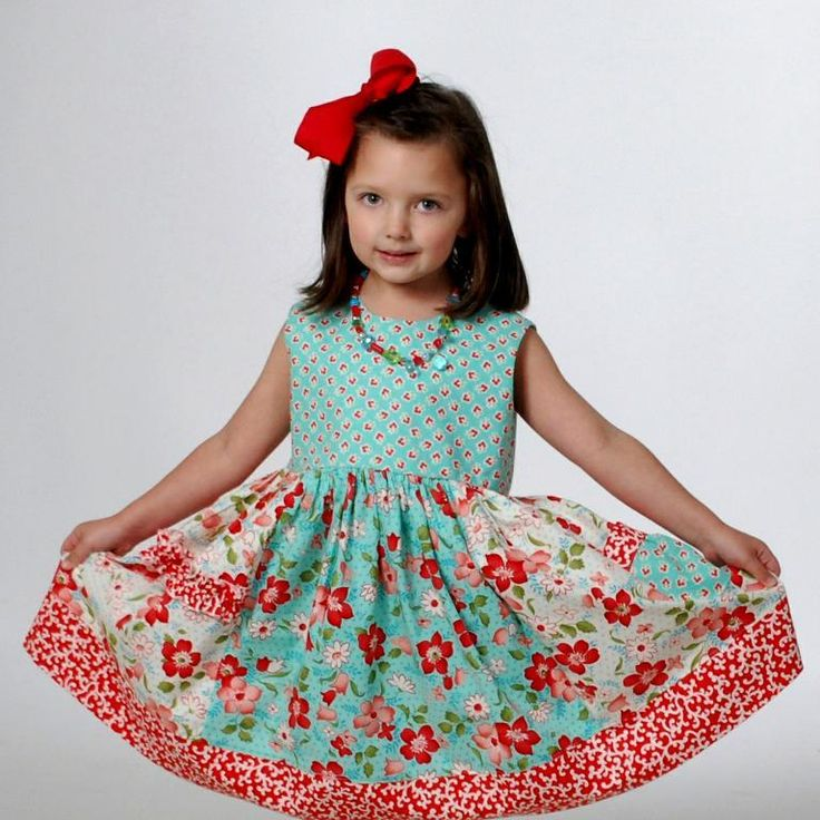 20 best Girls dress patterns images on Pinterest | Children dress ...