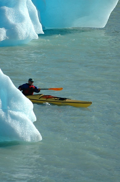 Una experiencia imperdible! kayak por los glaciares!