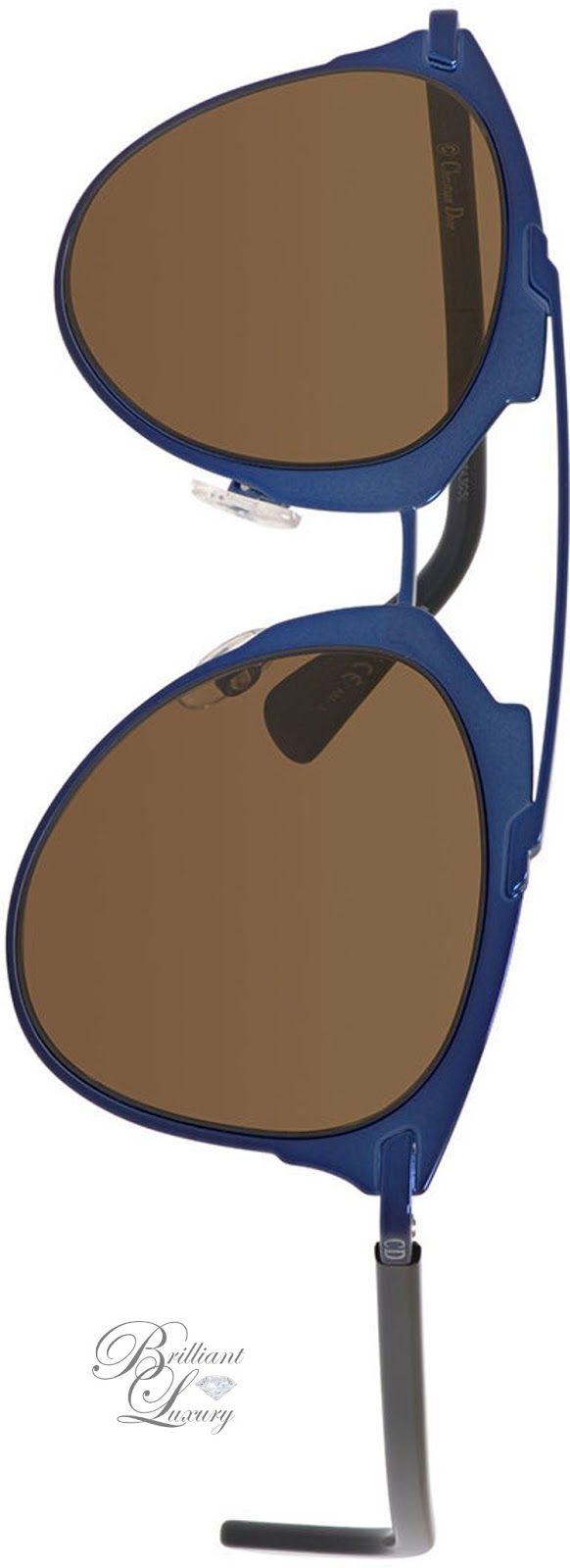 Brilliant Luxury * Dior Mirrored Metal Sunglasses