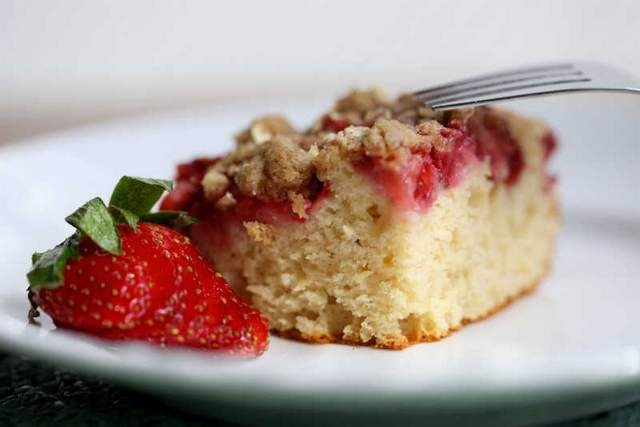 Strawberry Coffee Cake | Food for Thought | Pinterest