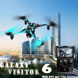 Nine Eagles Galaxy Visitor 6 NE-MASF15 FPV WIFI 2.4G 3-Axis Gyro RC Quadcopter Amazing Craftsmanship with a 3-axis gyro for increased flight movements and stronger wind resistance. #awesome #quadcopter #drone #tinydrone #fun #summer