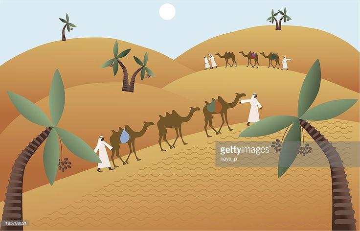 Караван верблюдов рисунки детей