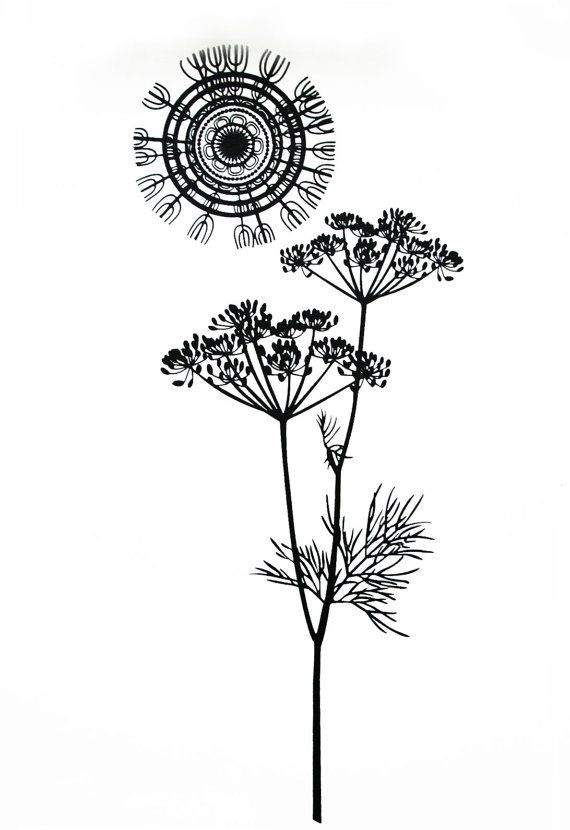 Cow parsley -  Limited Edition Hand-Pulled Screen Print