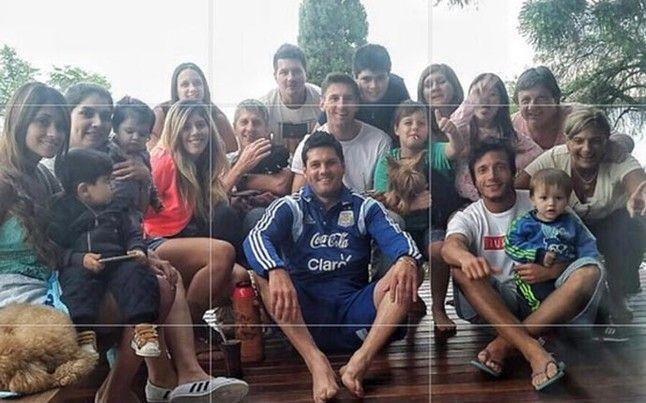 Leo Messi ya se encuentra en Argentina, donde pasará las vacaciones navideñas junto a su familia