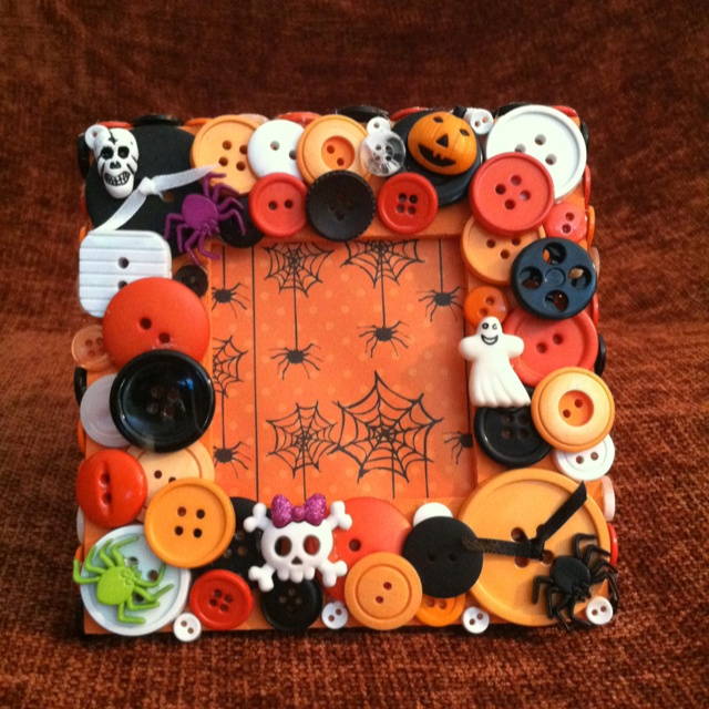 Buttons Gone Wild on etsy! Amazing frames! Special occasion, holidays, even custom orders! Check them out!