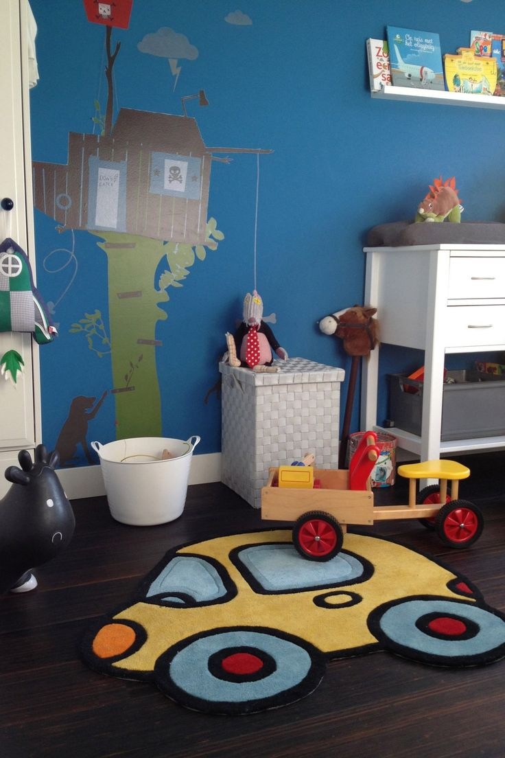 Lovely Toy Car rug for a little boys room | Dutch design by Arte Espina