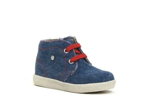 Naturino Veterschoen jeans special first walk shoe