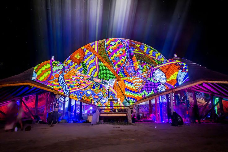 https://flic.kr/p/gS68qs | Chill out stage - OZORA 2013