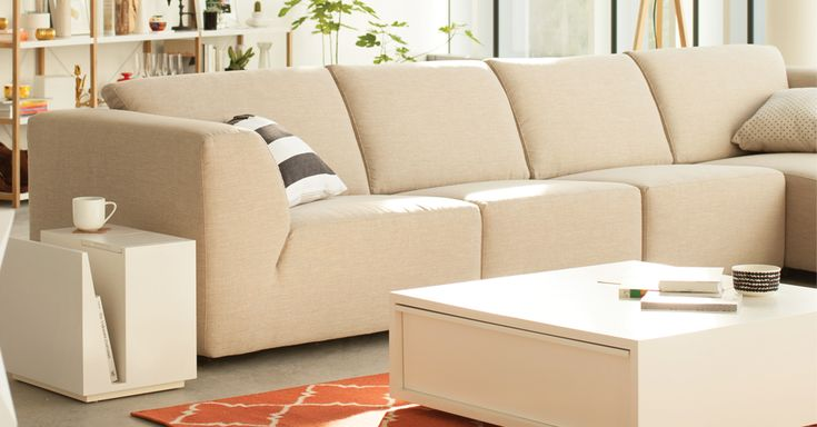 Canapé modulaire à trois pièces Morten - tissu | EQ3 Modern Furniture
