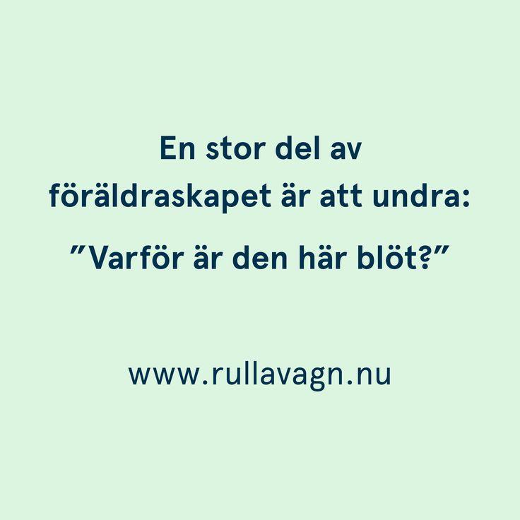 Varför är den här blöt...?! / Citat, humor, quotes och ordspråk från Rulla vagn om att vara förälder, föräldraskap, mamma och pappa / www.rullavagn.nu