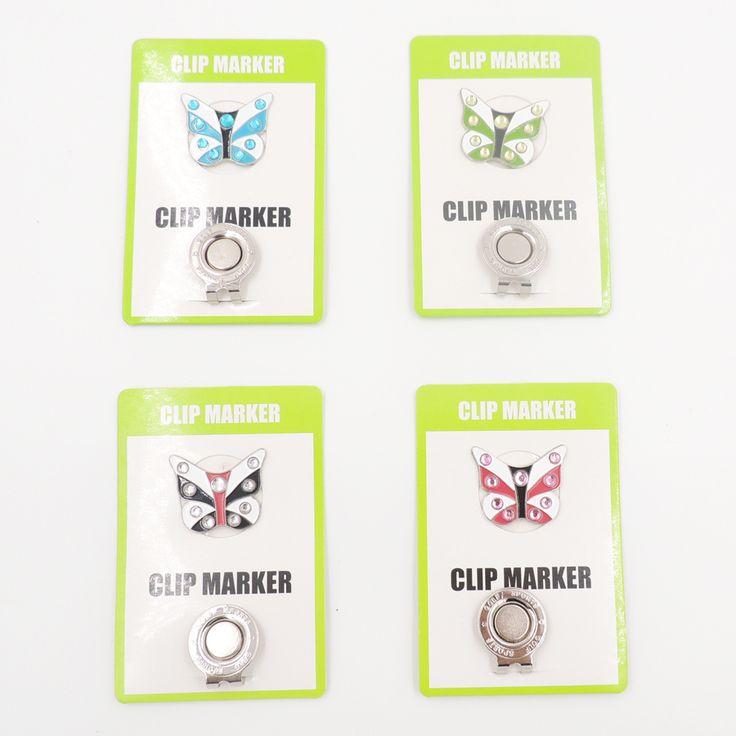 Golfbal Makers Golf Hoed Vizier Cap Clips Golf mark