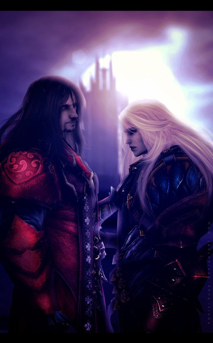 Castlevania: Lords of Shadow 2 - Dracul _____________________________ YAY ! A new LoS 2 fan art ♥   _____________________________ Model ripped by Malefor666