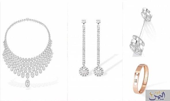 مجوهرات ميسيكا من وحي عشرينيات القرن الماضي Diamond Necklace Necklace Silver Necklace
