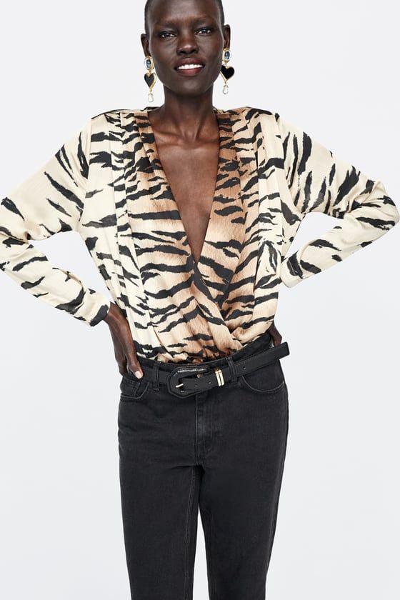 af6b6fe689 Women's Bodysuits | New Collection Online | ZARA United Kingdom ...