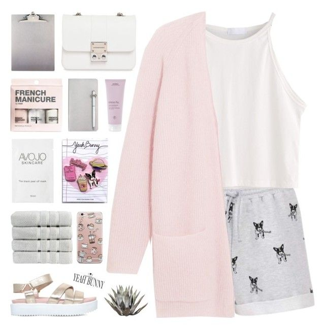 """I Woke Up To The Sun Rising & The Lake Glowing"" by paradiselemonade ❤ liked on Polyvore featuring By Malene Birger, KG Kurt Geiger, Christy, Yeah Bunny, H&M, Aveda, ICE London, Design Inverso, simple and organize"