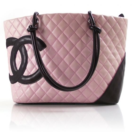 Love, love, love, love this. Pink is the color of happy, don't you think? Chanel ($1,070!)