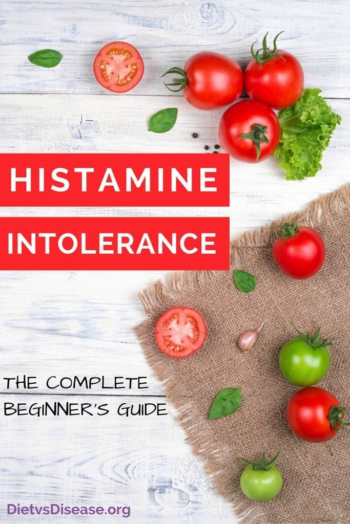 Histamine intolerance is poorly understood in the medical community. This is a comprehensive, research-driven review of the condition with a particular focus on diet and treatment. Learn more here: http://www.dietvsdisease.org/histamine-intolerance/