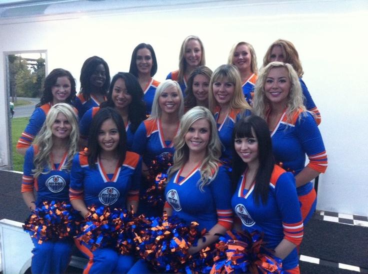 Edmonton Oilers Ice Girls
