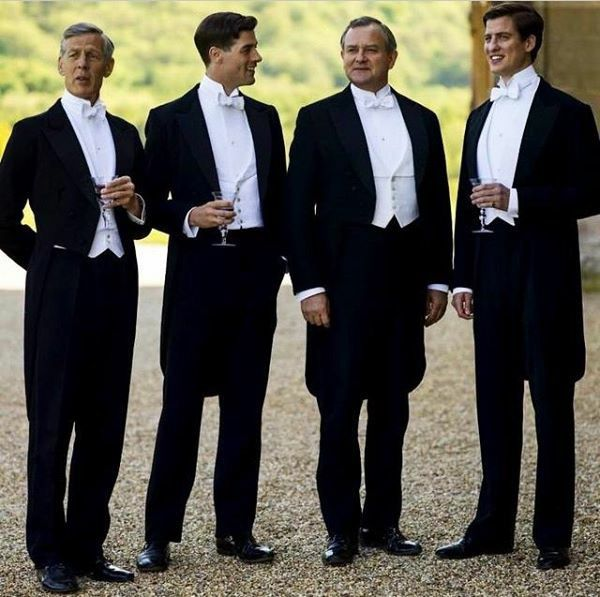 What a handsome bunch!  Downton Abbey