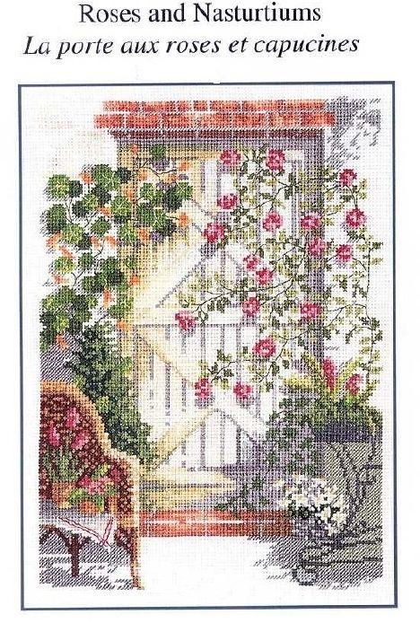 1/4 roses et capucines