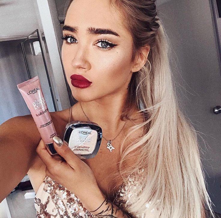 "24.1k Likes, 52 Comments - L'Oréal Paris Makeup (@lorealmakeup) on Instagram: ""💖The Perfect glow for a Perfect Monday💖➡️➡️ Mix Alliance Liquid Perfect Match with Alliance Powder…"""