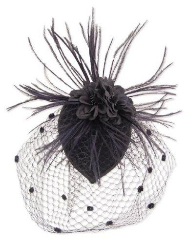 Black Feather Fabric Flower Net Fascinator Hair Clip and Cocktail Hat $25: Cocktails Hats, Net Fascinators, Fabric Flowers, Hair Clips, Flowers Net, Feathers Fabrics, Black Feathers, Fabrics Flowers, Fascinators Hair