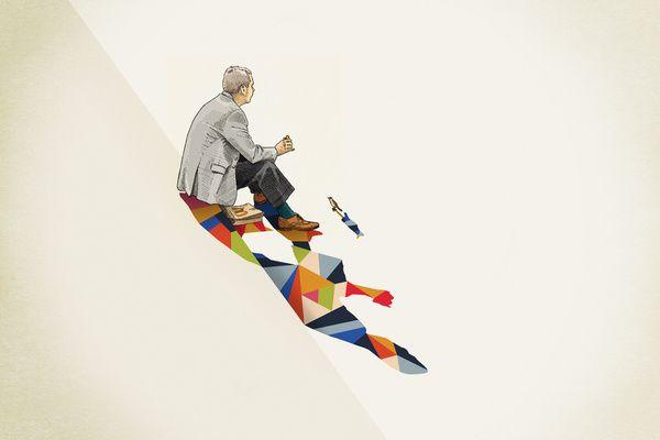 Bright Blocks of Color Form Abstract Shadows - My Modern Metropolis