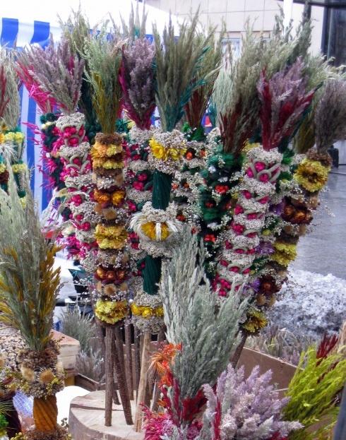 dried floral arrangements