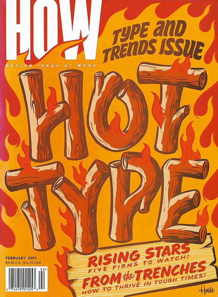 25 Iconic Illustrated Covers of HOW Magazine