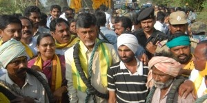 It is an all time state record. Telugu Desam Supremo N chandrababu Naidu completed 100 days of his padayatra. Begin in the Ceded area (Hindupur) he walked through the Nizam area... http://www.frontpageindia.com/head-line-one/vasthunna-mee-kosam-100-days-function-in-nizam-ceded/47235