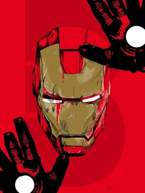 Redesign de cartazes de O Homem de Ferro 3 | Pipoca com Manteiga!