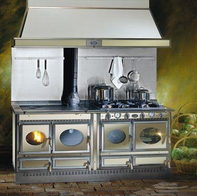 Wood Burning Range Cooker Boiler Cascina 200lge J