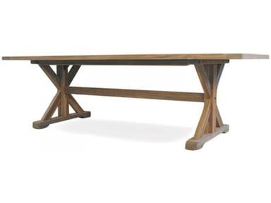 Lloyd Flanders Outdoor Patio 98 5 Rectangle Live Edge Table
