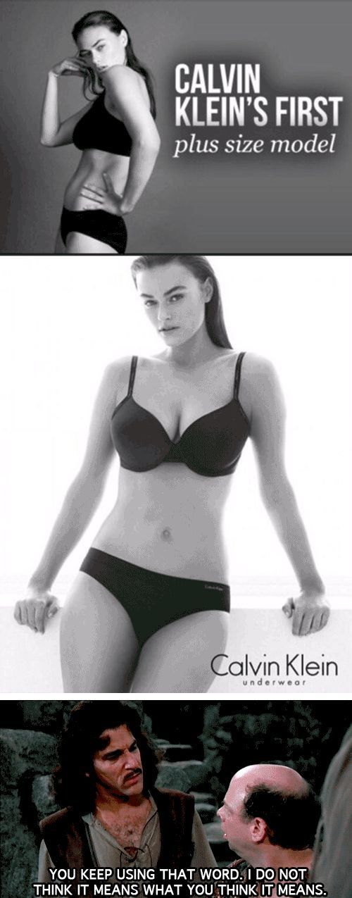 'Plus-Size'<<< I hate this! Are you aware how many models die from not eating enough so they can be a 'normal' size? I hate it.