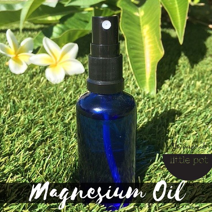 Magnesium Oil with Lavender and Lemon Essential Oils