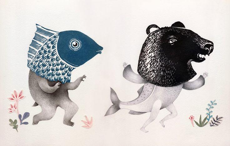 Adolfo Serra & Ester Garcia, 17 animales Juegan