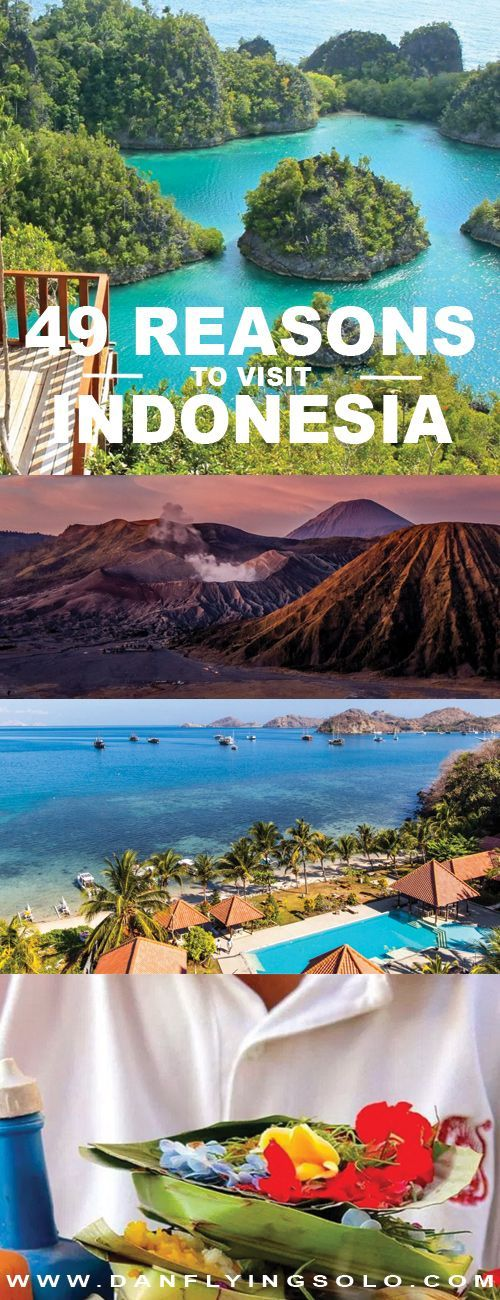 49 Reasons to clear your diary, book a flight and explore all the incredible things to do in Indonesia