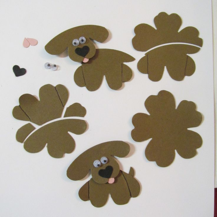 #stampinup #punchitup challenge. Pansy punch puppies