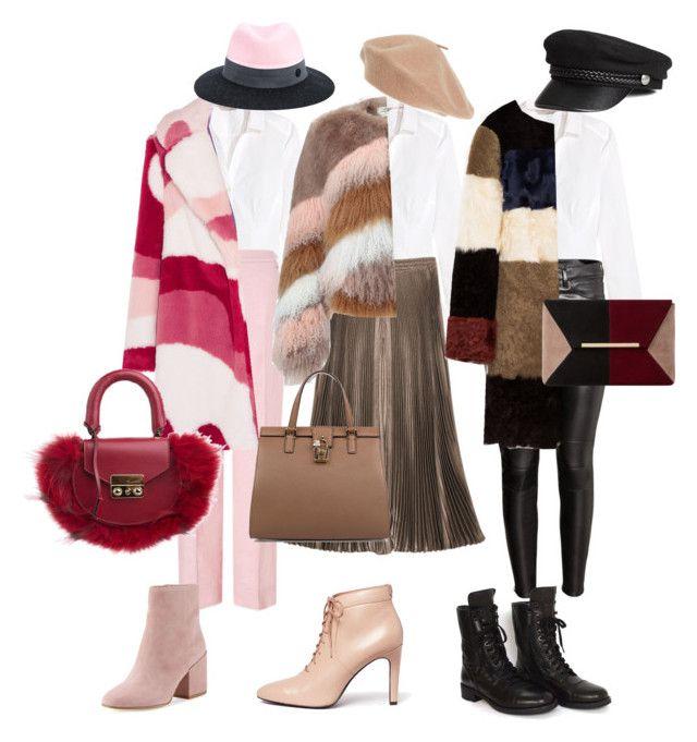 """Lovely furs"" by explorer-14768142065 on Polyvore featuring мода, H&M, ESCADA, VIVETTA, Urbancode, Chanel, Sam Edelman, Opening Ceremony, SALAR и Dolce&Gabbana"