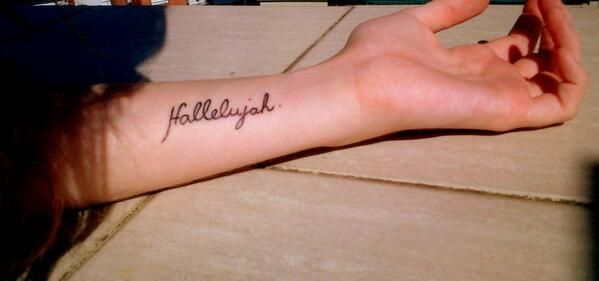 panic at the disco hallelujah tattoo – Google Search