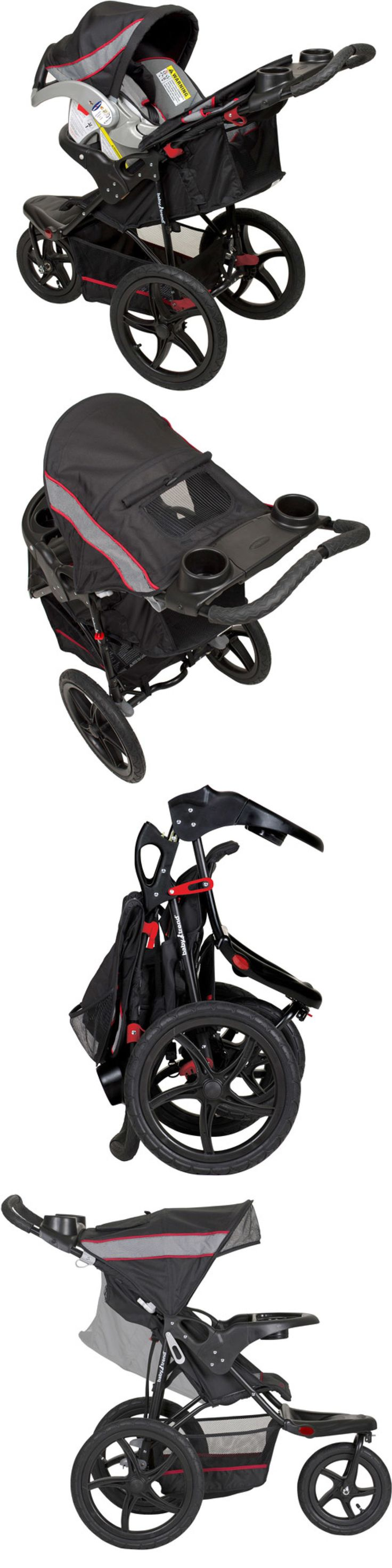 Strollers Baby Jogging Stroller Jogger Canopy Travel Lightweight Padded Seat Millennium BUY